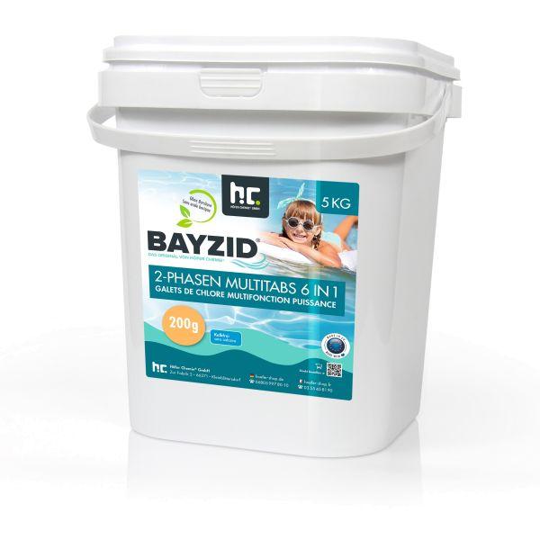 5kg BAYZID 2-Phasen-Multitabs 6-in-1 je 200g