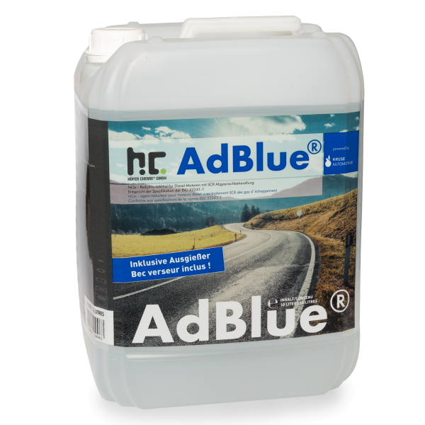 10 L AdBlue® Harnstofflösung inklusive Ausgießer