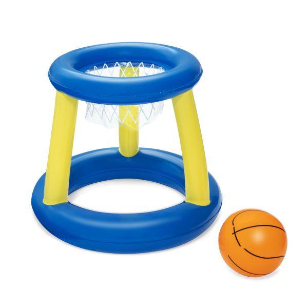 Schwimmendes Basketballspiel