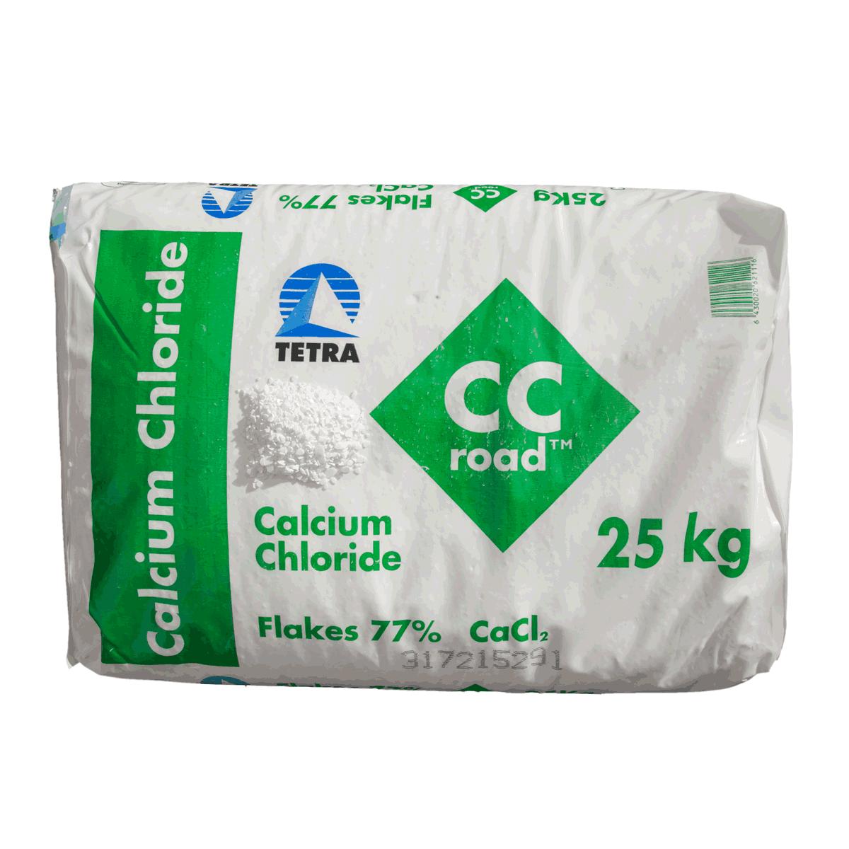 1 x 25 kg Calciumchlorid Streugranulat