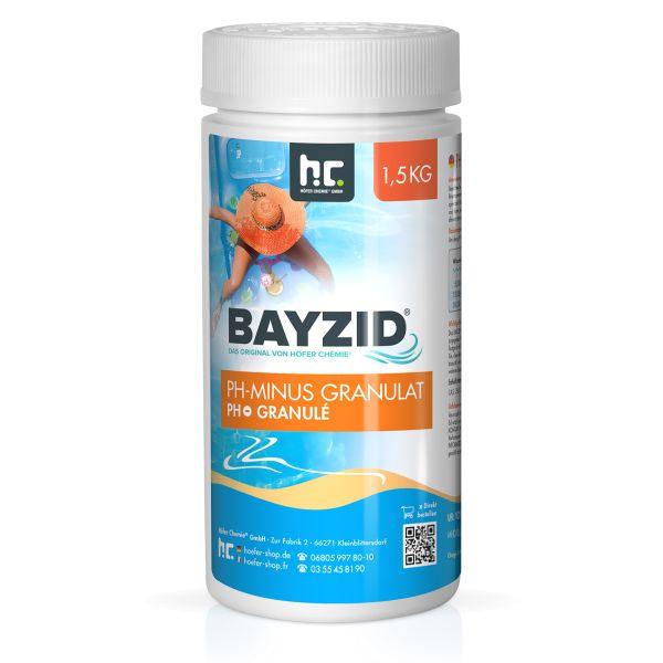 pH Senker Granulat 1,5kg-Dose BAYZID Höfer Chemie
