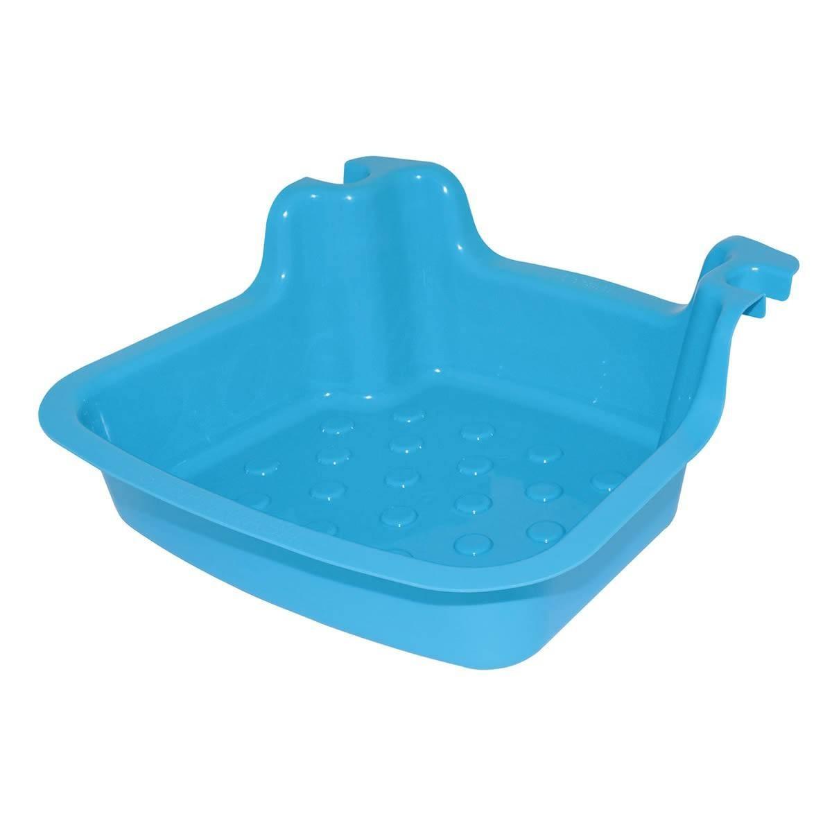 Fußbad hellblau