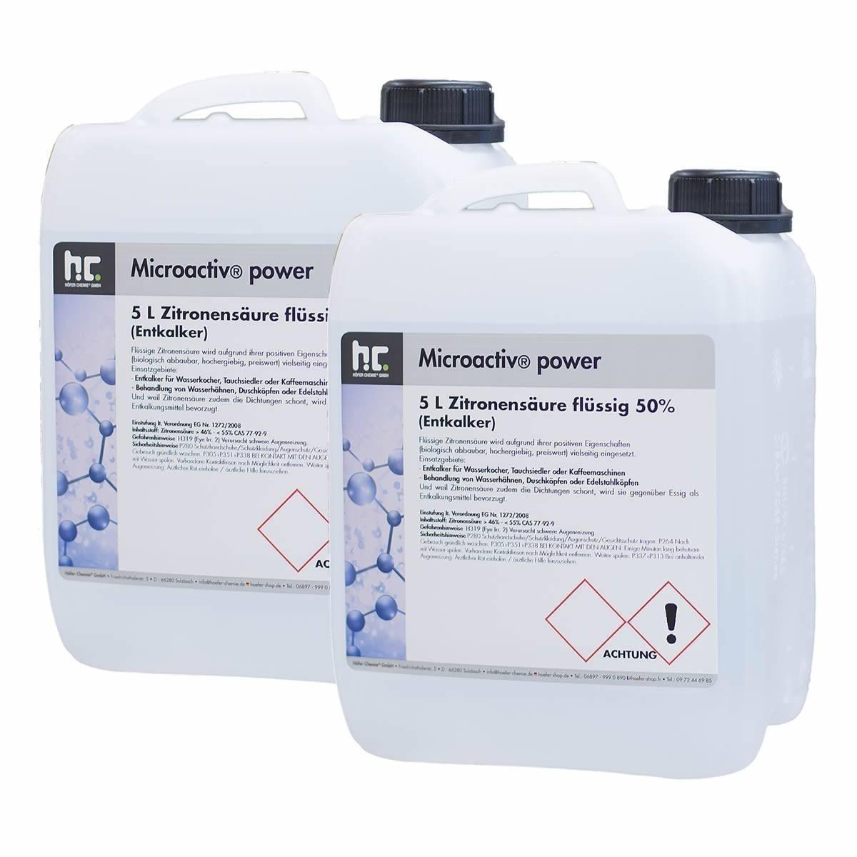 Zitronensäure 5 Liter