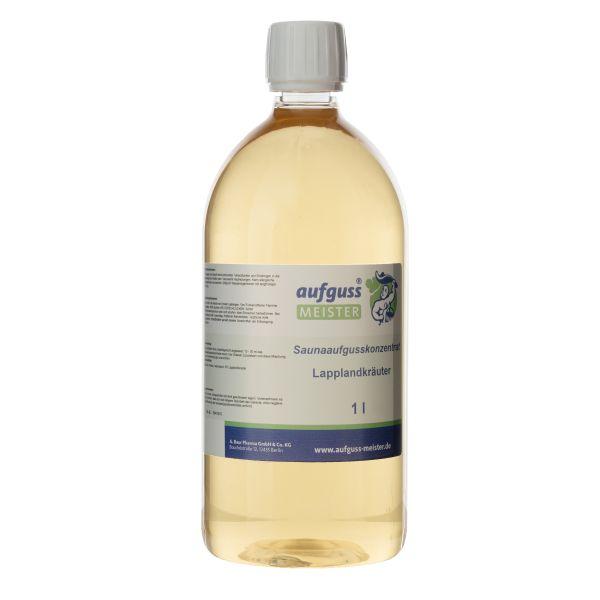 1 L Belebender Saunaaufguss Lapplandkräuter ohne synthetische Zusatzstoffe
