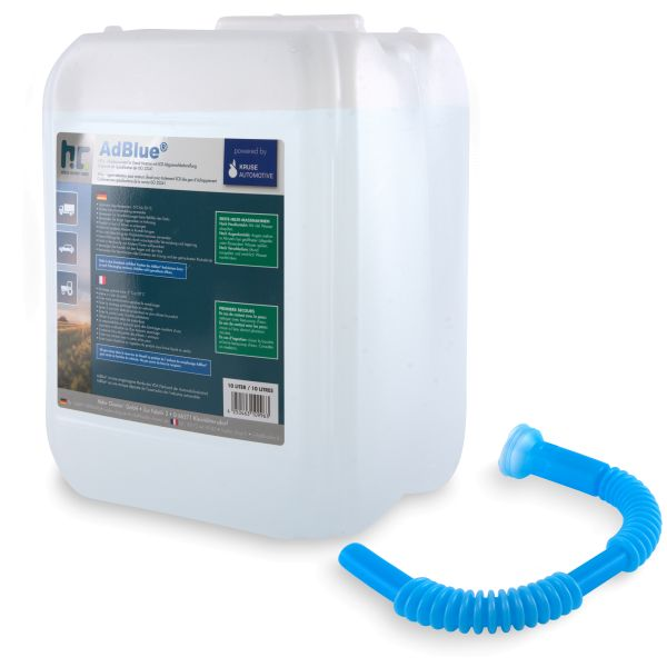 AdBlue 10 Liter Kanister mit Ausgießer Höfer Chemie powered by Kruse Automotive